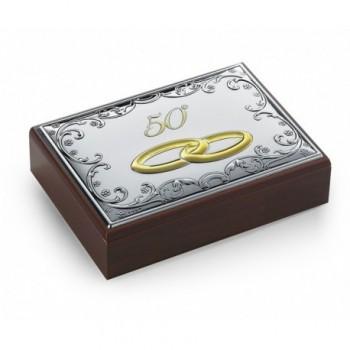 scatola con placca bilaminato 85F 6449/50