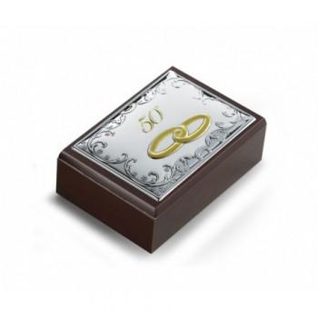 scatola con placca bilaminato 6431/50