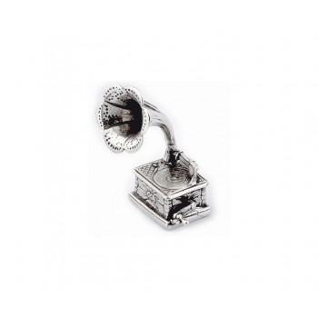 Grammofono argento
