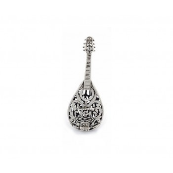 Mandolino argento