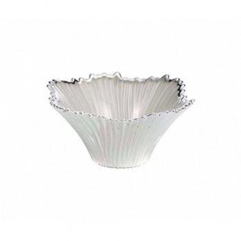 Ciotolina bomboniera vetro con deposito argento Mod. 5/P art. 0.02194