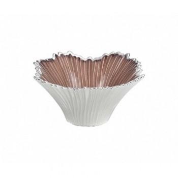 Ciotolina bomboniera vetro con deposito argento  Mod. 5/P art. 0.02437