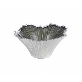 Ciotolina bomboniera vetro con deposito argento Mod. 5/P art. 0.02203