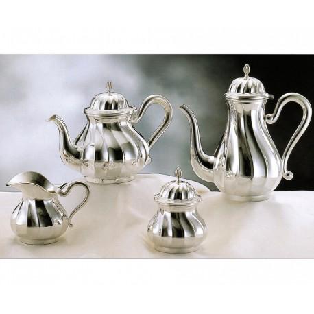 SILVER TEA-COFFEESET