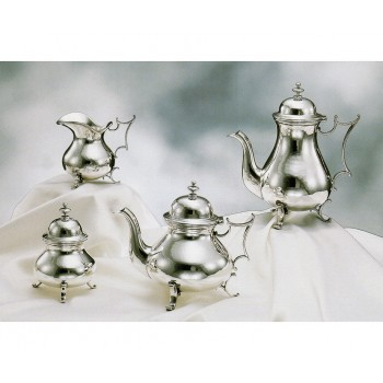 SILVER TEA-COFFEESET