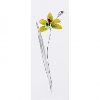 silver orchid
