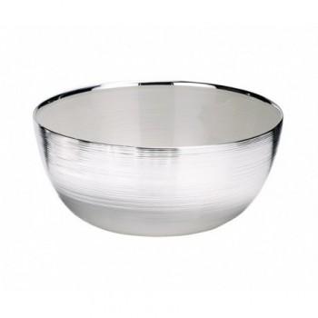 Ciotolina bomboniera vetro con deposito argento Mod. 5/P art. 0.01773
