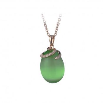 Pendente Fabergè Verde