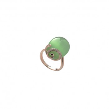 Anello Fabergè Verde