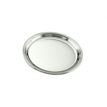 Sottobicchiere inglese argento