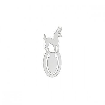 Segnalibro Bambi Argento