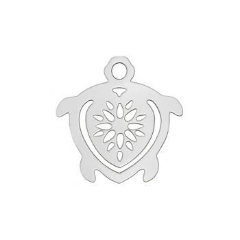 Segnalibro Tartaruga Argento