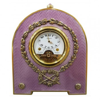 Sterling Silver Table Clock...