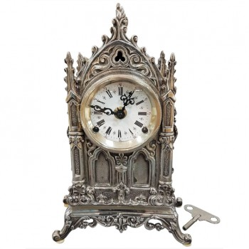 TABLE SILVER CLOCK