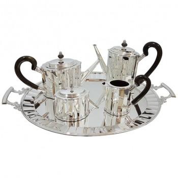 Silver tea-coffe set