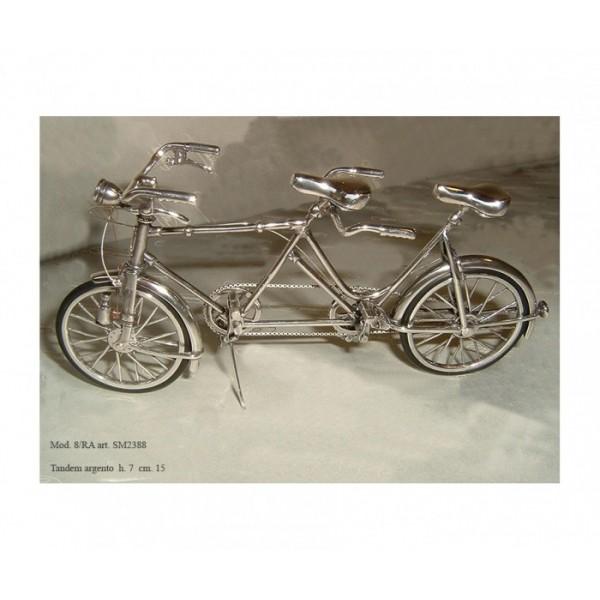 Bicicletta argento