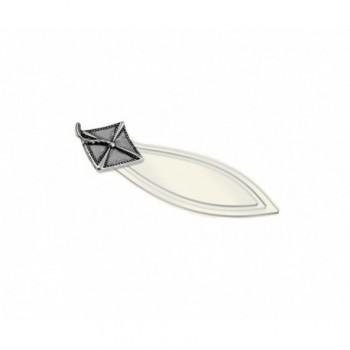 Segnalibro laurea silver plated Mod. 22/RA art. MZ4186