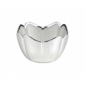 Ciotolina bomboniera vetro con deposito argento 5/P art.0.02247
