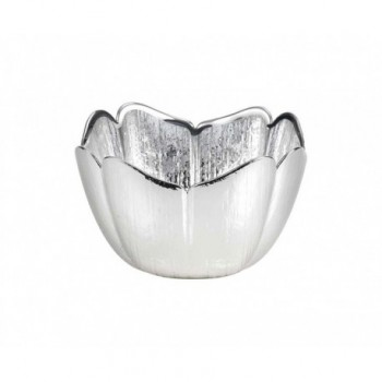 Ciotolina bomboniera vetro con deposito argento Mod. 5/P art. 0.02248