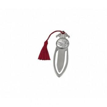 Segnalibro laurea silver plated Mod. 1/APC art. 3942