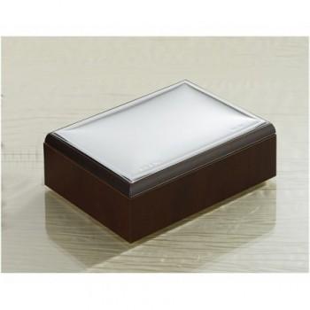 scatola legno laminato argento PVD 85F 360
