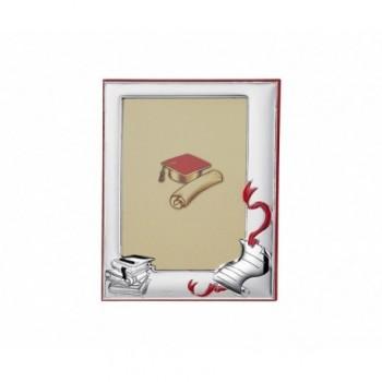 Cornice laurea laminata argento Mod. 85/F art. 6270LD