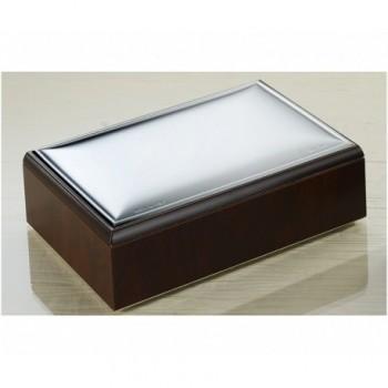 scatola legno laminato argento PVD 85F 361