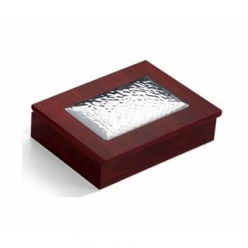 scatola legno Bilaminato argento 85F 1670