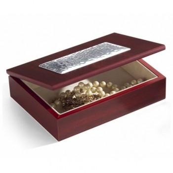 scatola legno Bilaminato argento 85F 1671