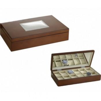scatola legno Bilaminato argento 85F 1810