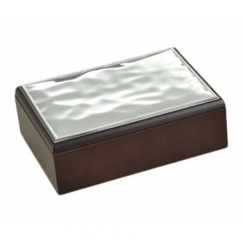scatola legno Bilaminato argento 85F 1771
