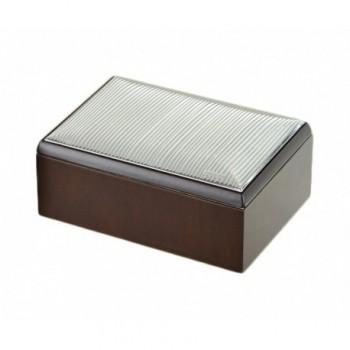 scatola legno Bilaminato argento 85F 1786