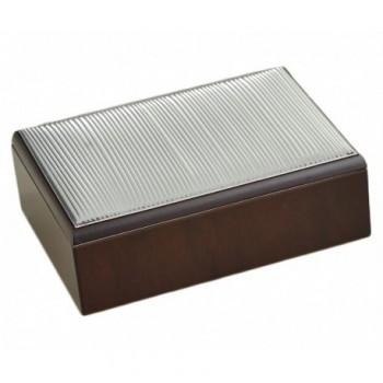 scatola legno Bilaminato argento 85F 1787