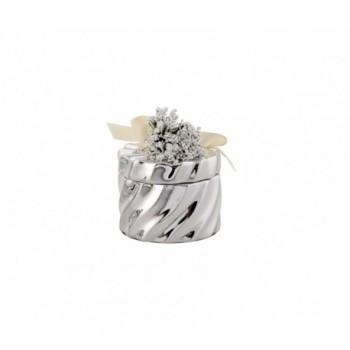 Scatolina bomboniera con deposito argento 1/BG art.1879-01 P