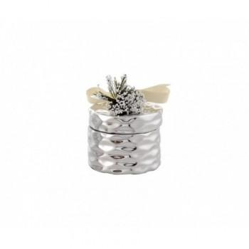 Scatolina bomboniera con deposito argento  1/BG art.1879-02 P