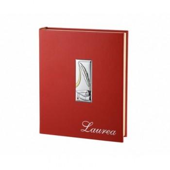 ALBUM LAUREA PLACCA LAMINATA ARGENTO 85/F art. 6259