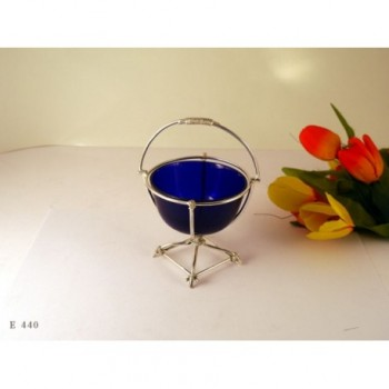 ELECTROPLATED DISH BLUE LINER
