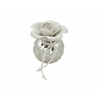 profumatore in ceramica argentata Mod. 1/BG art. 1814-03 P