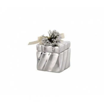 Scatolina bomboniera con deposito argento 1/BG art. 1878-01 P
