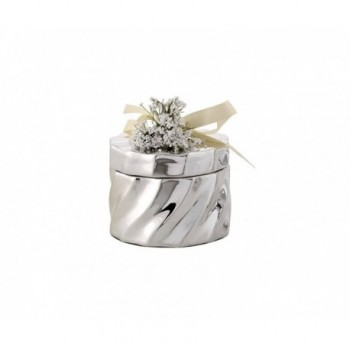 Scatolina bomboniera con deposito argento 1/BG art.1879-01 G