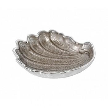 Ciotolina bomboniera vetro con deposito argento Mod. 5/P Art. 0.02059